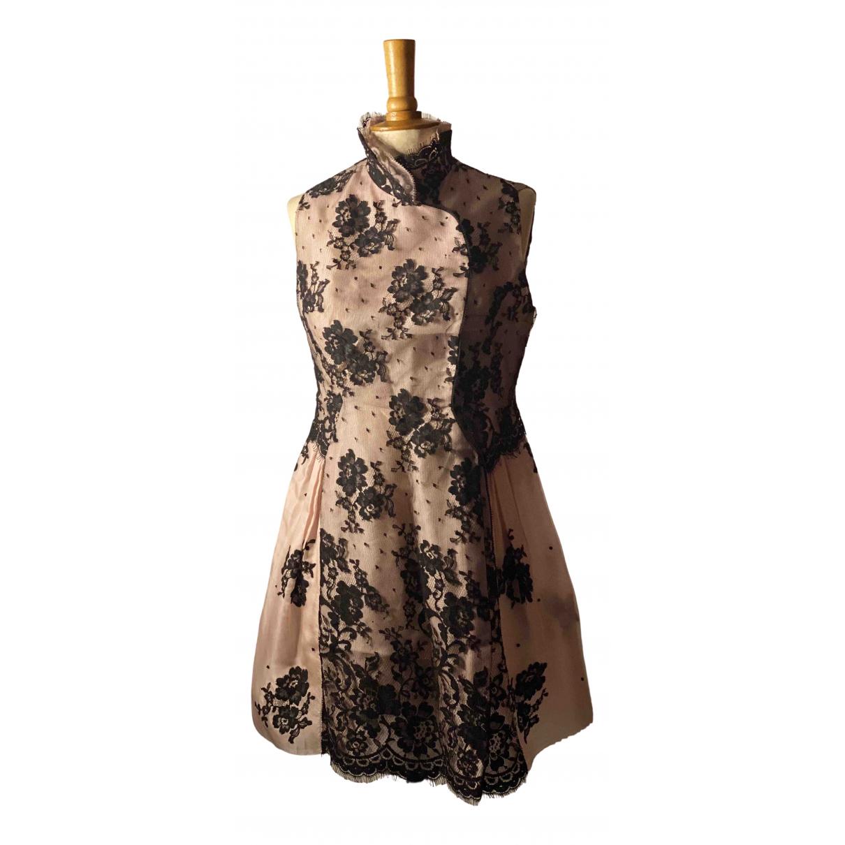Shiatzy Chen - Robe   pour femme en soie - rose