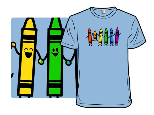 Colorful Friends T Shirt