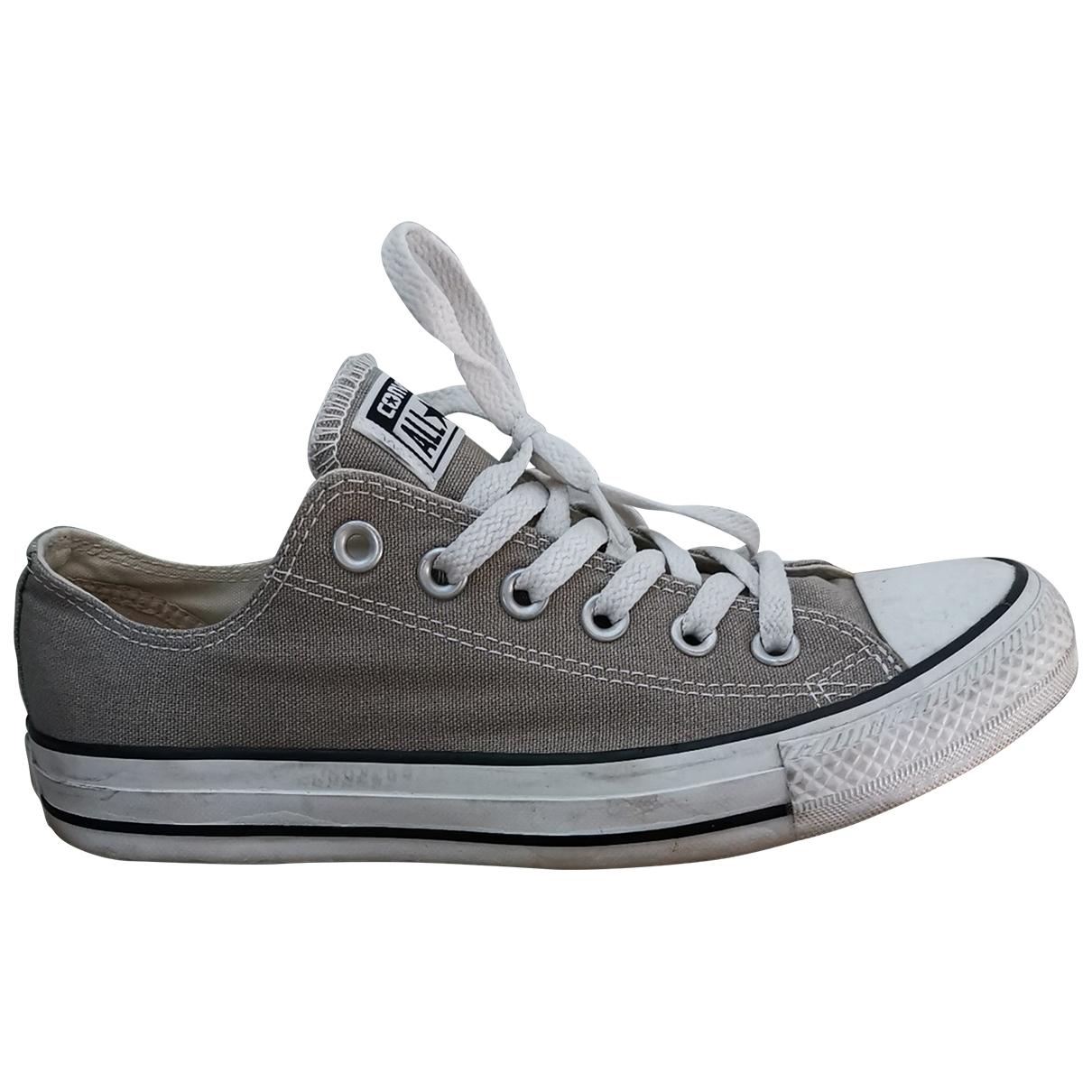 Converse \N Sneakers in  Khaki Leinen