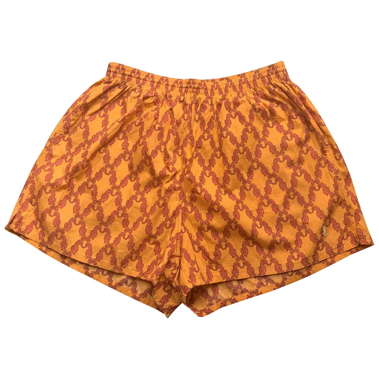 Yves Saint Laurent N Orange Cotton - elasthane Swimwear for Men M International