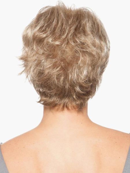 Milanoo Pelucas de cabello humano de color orado de 8 inches