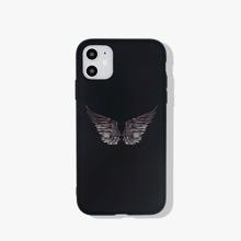 1 Stueck iPhone Schutzhuelle mit Fluegel Muster