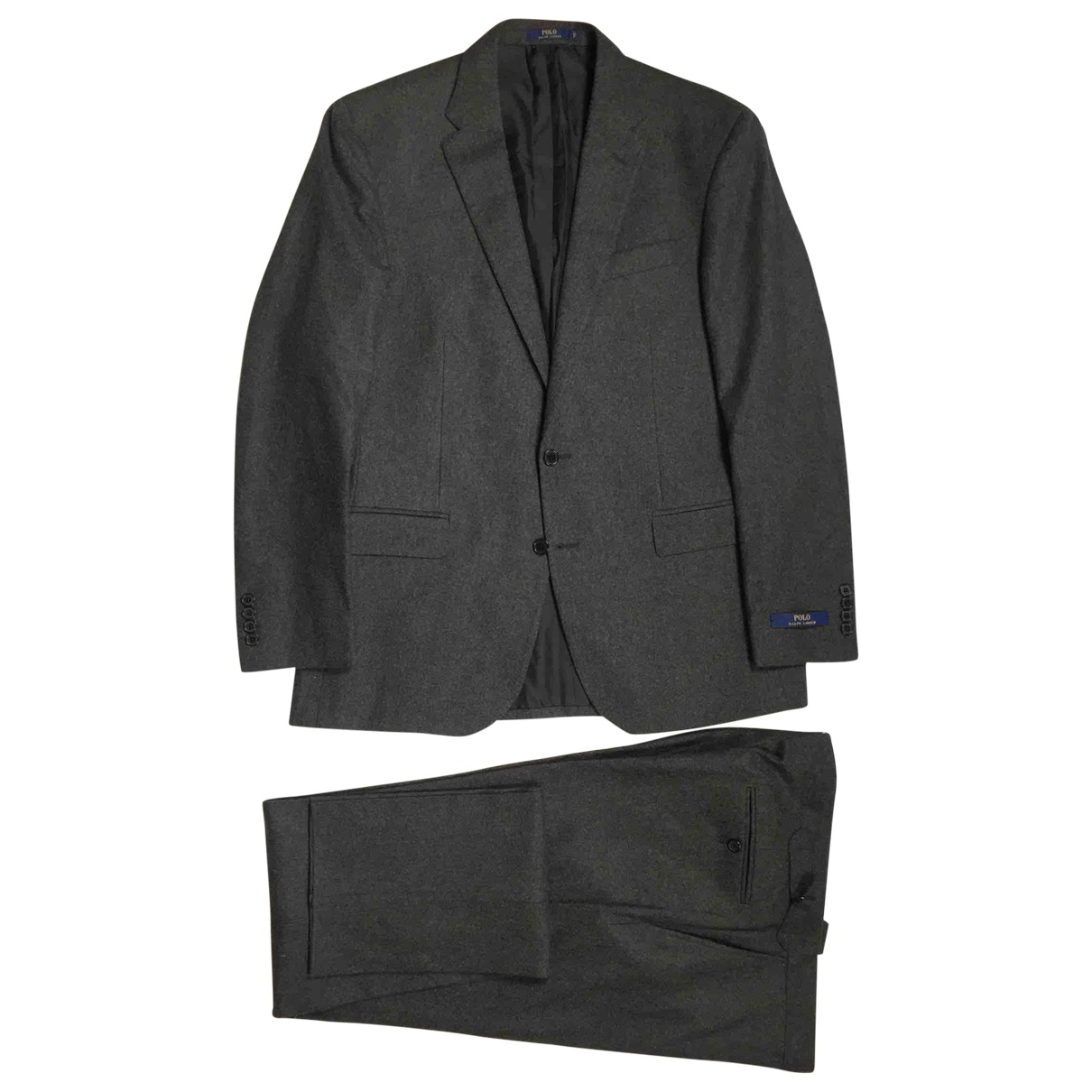 Polo Ralph Lauren \N Anzuege in  Grau Wolle
