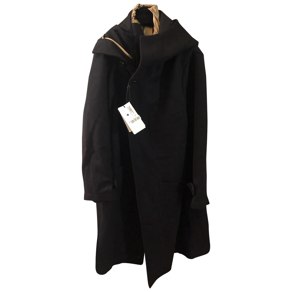 Gucci \N Blue Wool coat  for Men 52 IT