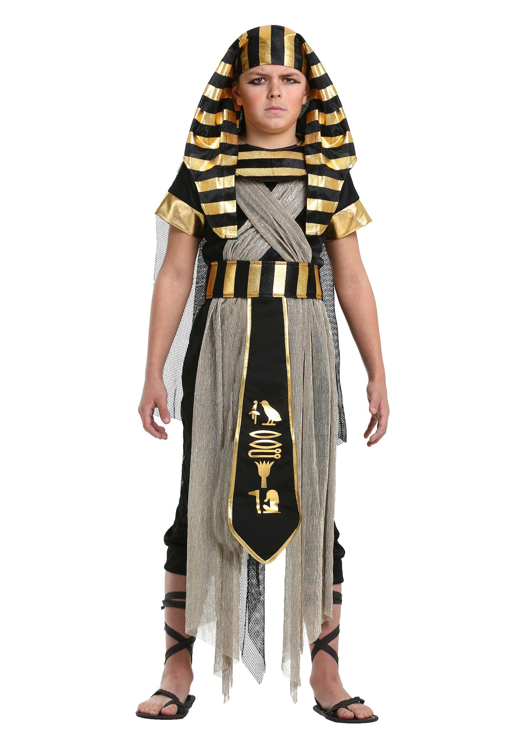 All Powerful Pharaoh Costume for Boys