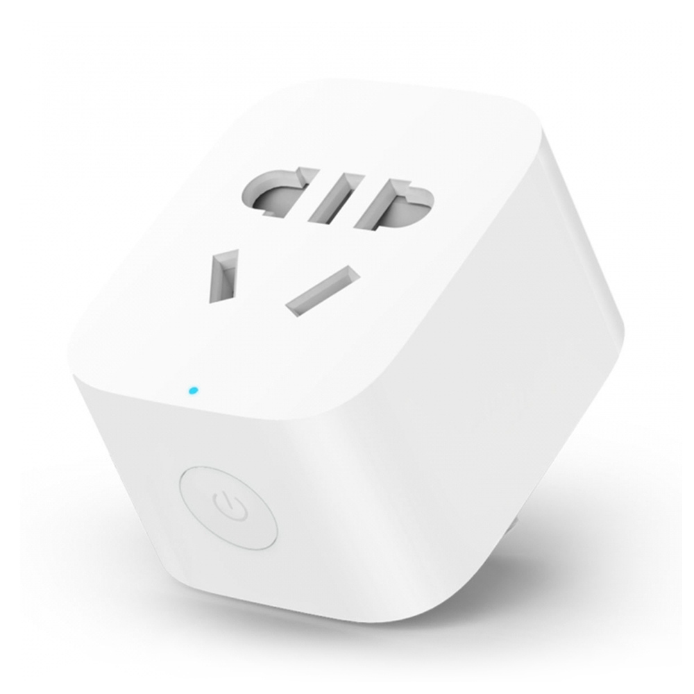 Xiaomi Mijia Smart WiFi Socket APP Remote Control Timing Switch for Lamp Speaker Humidifier Daily Use - White