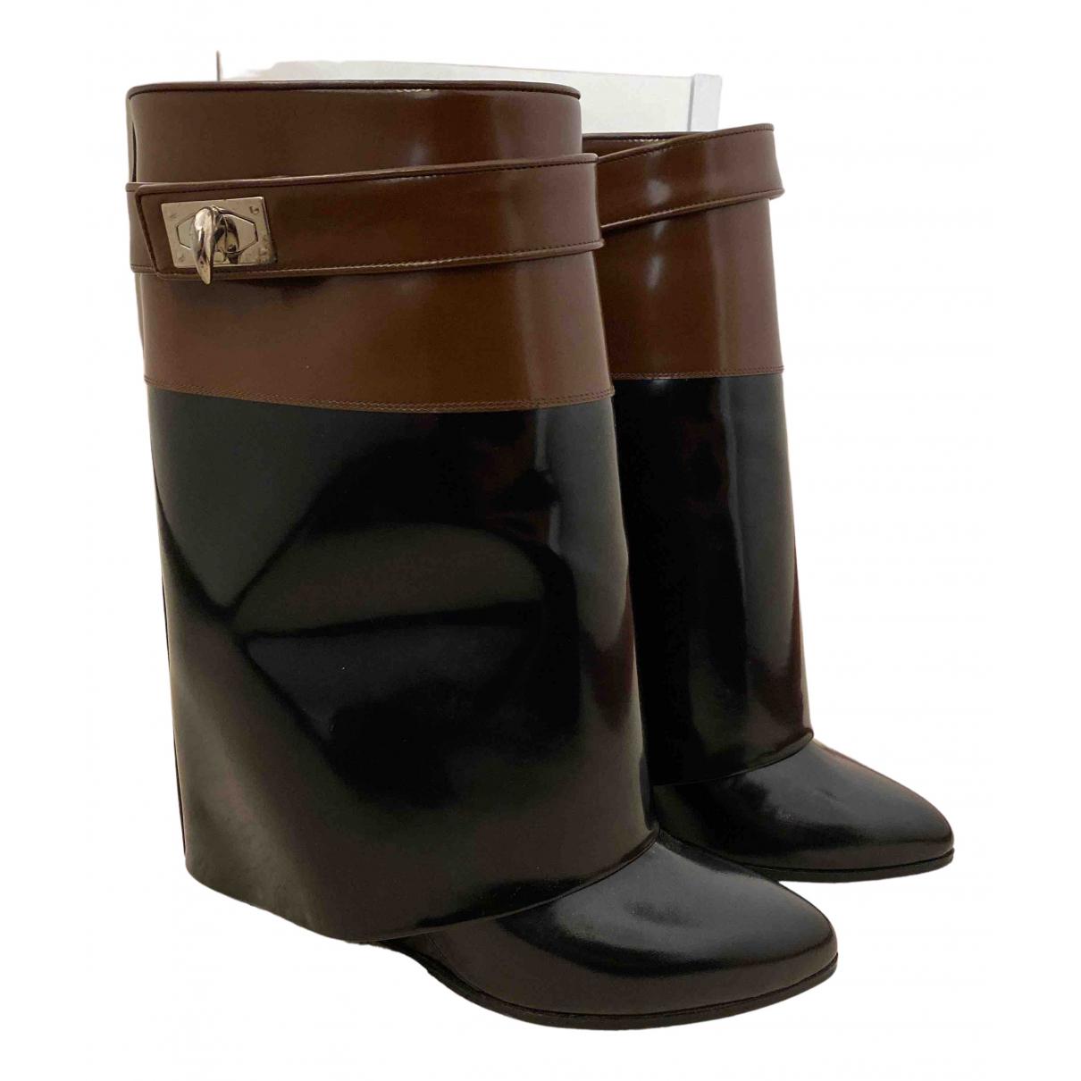 Botas de Cuero Givenchy