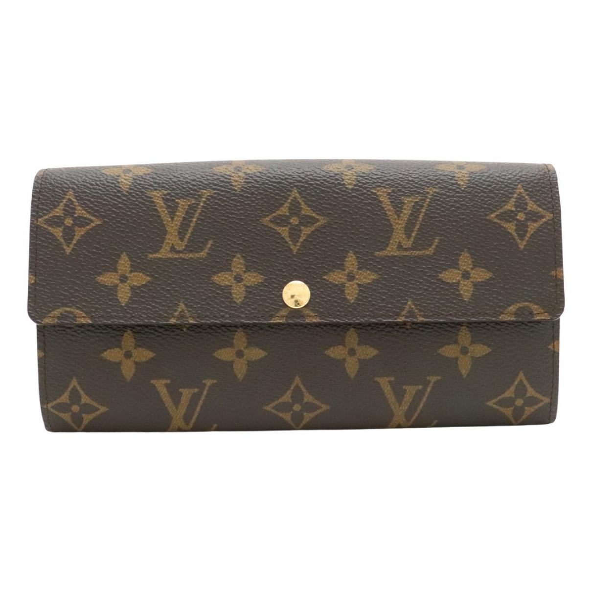 Louis Vuitton - Portefeuille   pour femme en autre - rouge
