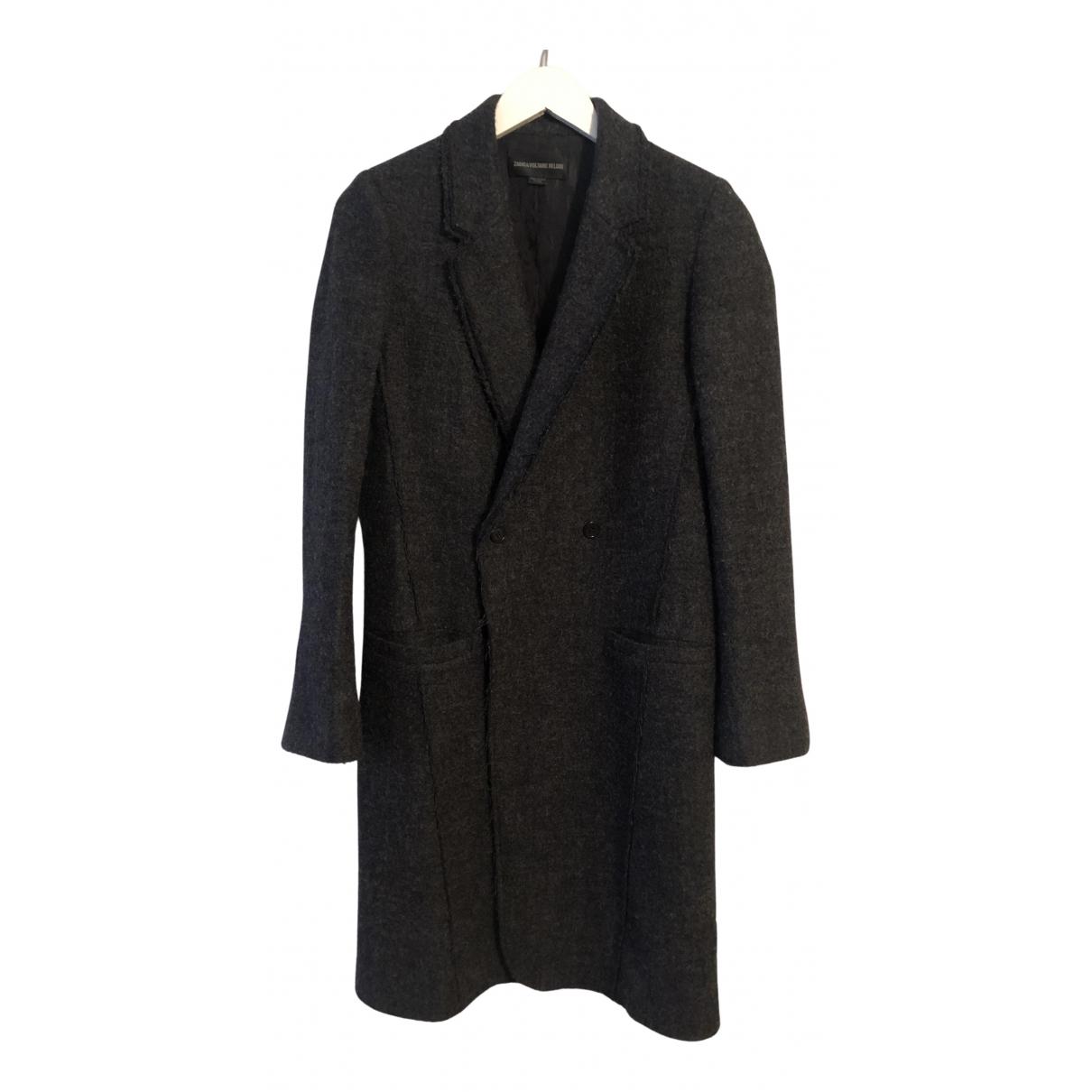 Zadig & Voltaire - Manteau   pour femme en laine - gris