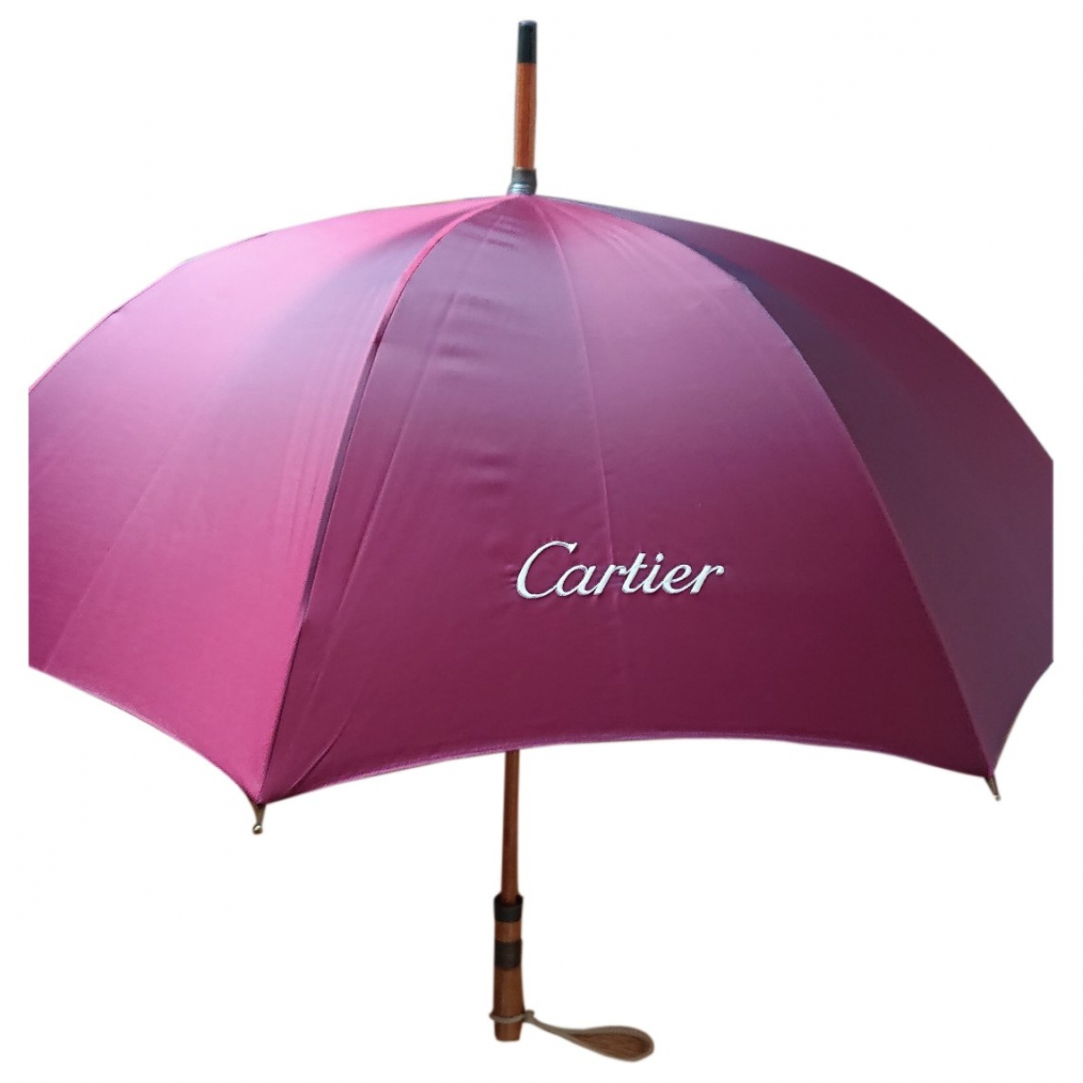 Cartier \N Accessoires und Dekoration in  Bordeauxrot Holz
