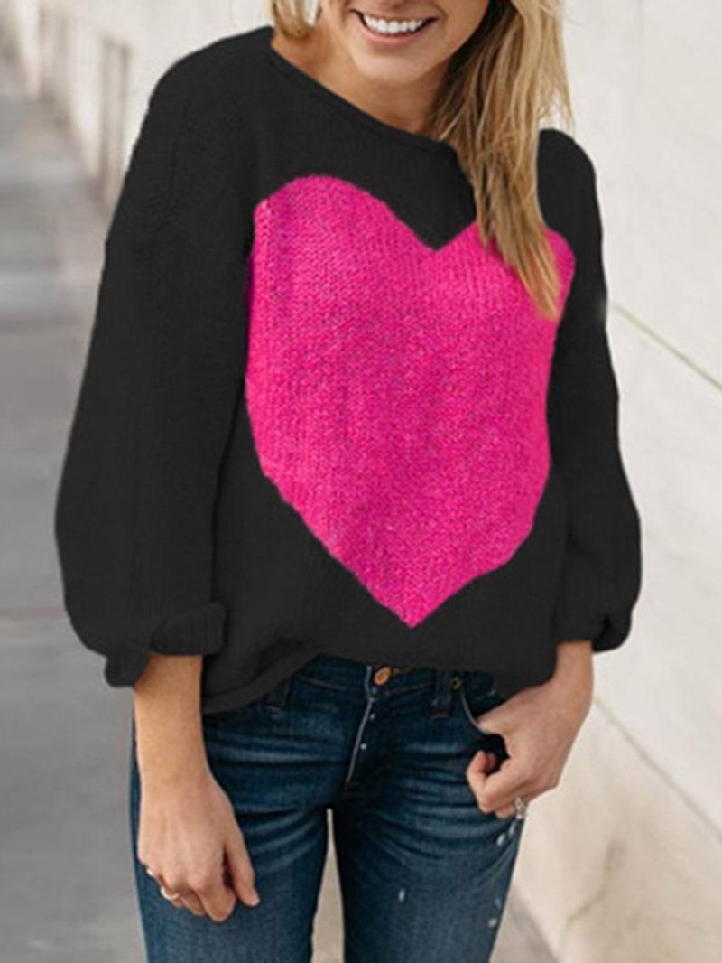 Ericdress Print Regular Winter Standard Sweater