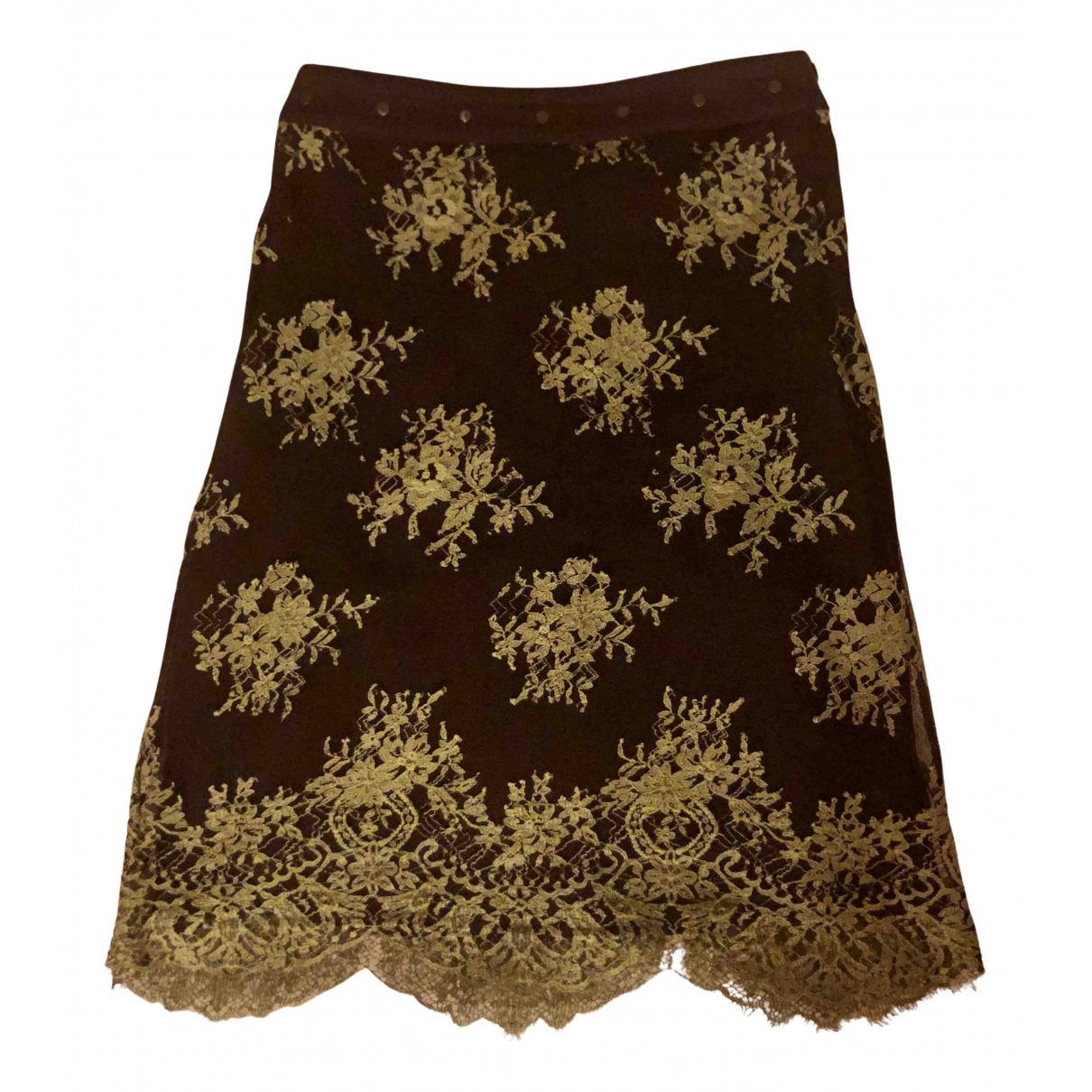 Red Valentino Garavani N Brown skirt for Women 38 IT