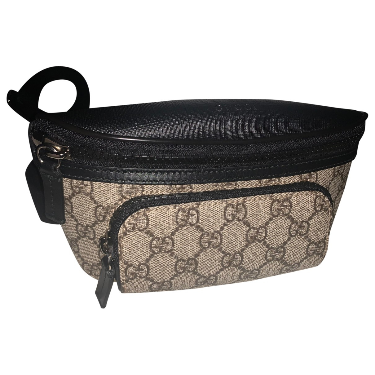 Gucci \N Beige Cloth bag for Men \N