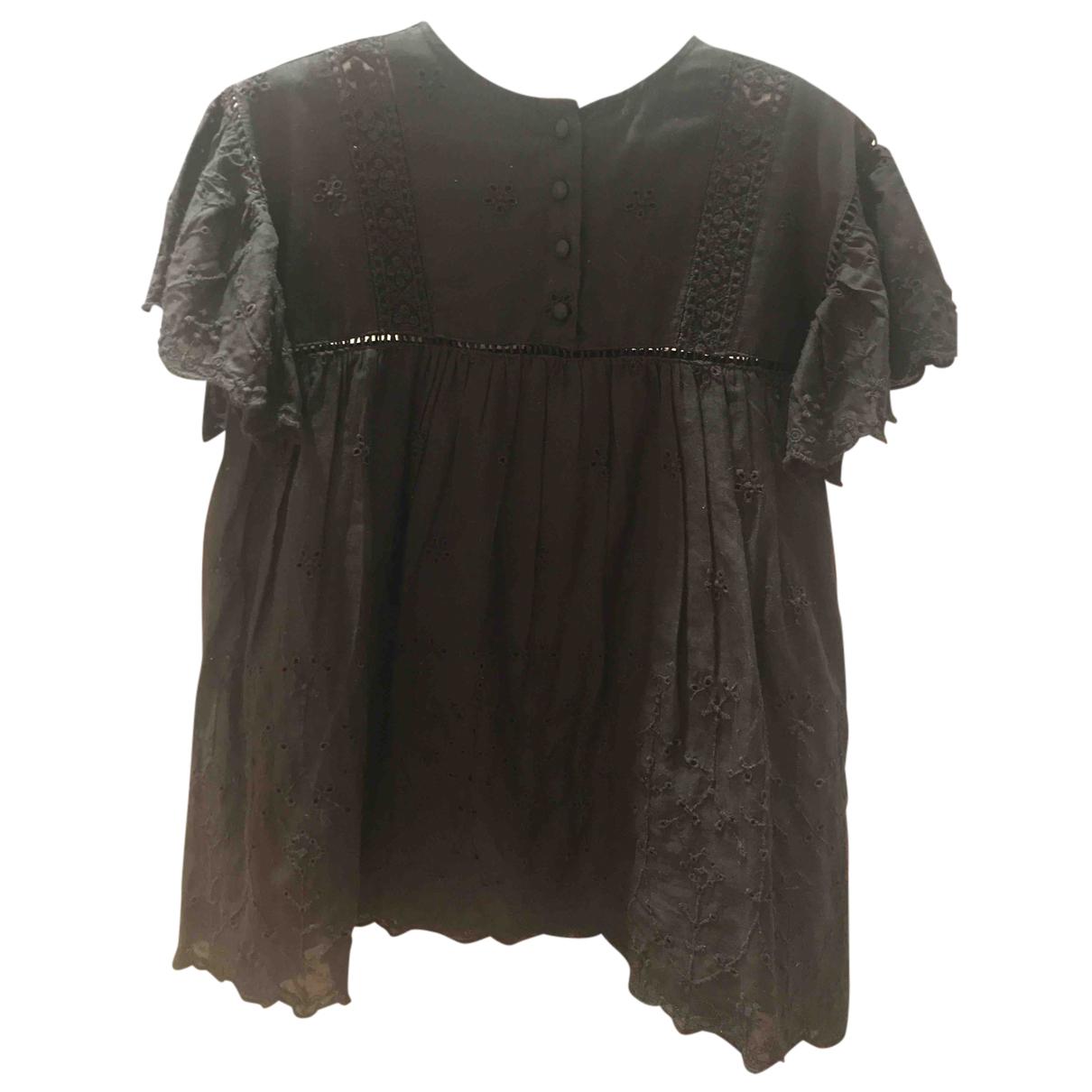 Zara - Robe    pour enfant en coton - noir