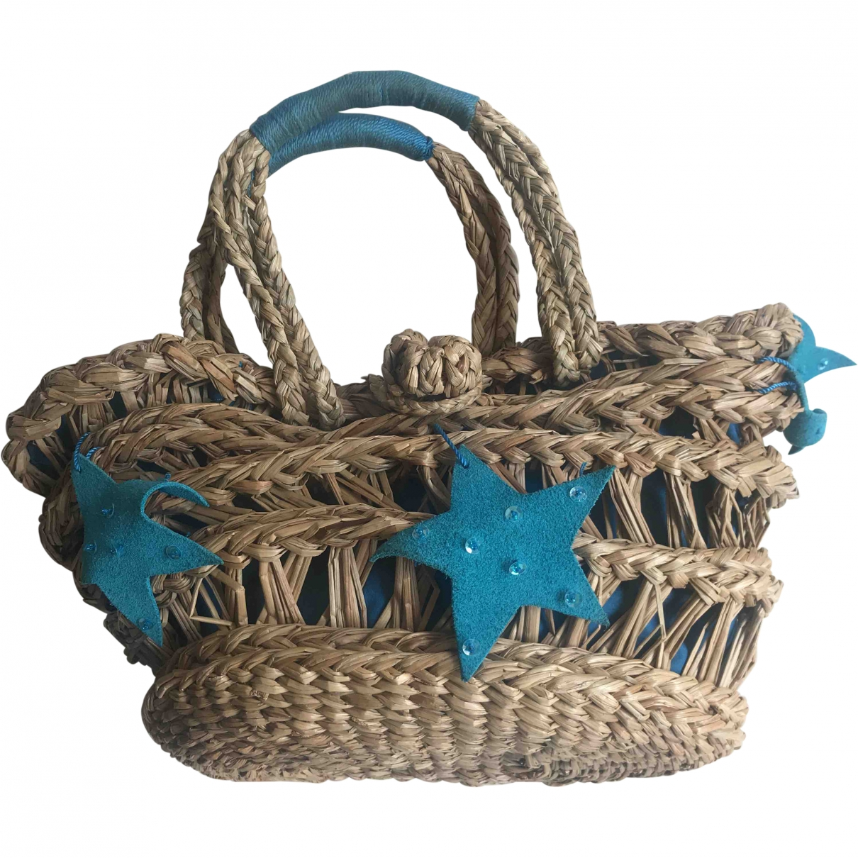 M Missoni \N Blue Wicker handbag for Women \N