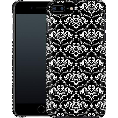 Apple iPhone 8 Plus Smartphone Huelle - Black French Lillies von caseable Designs