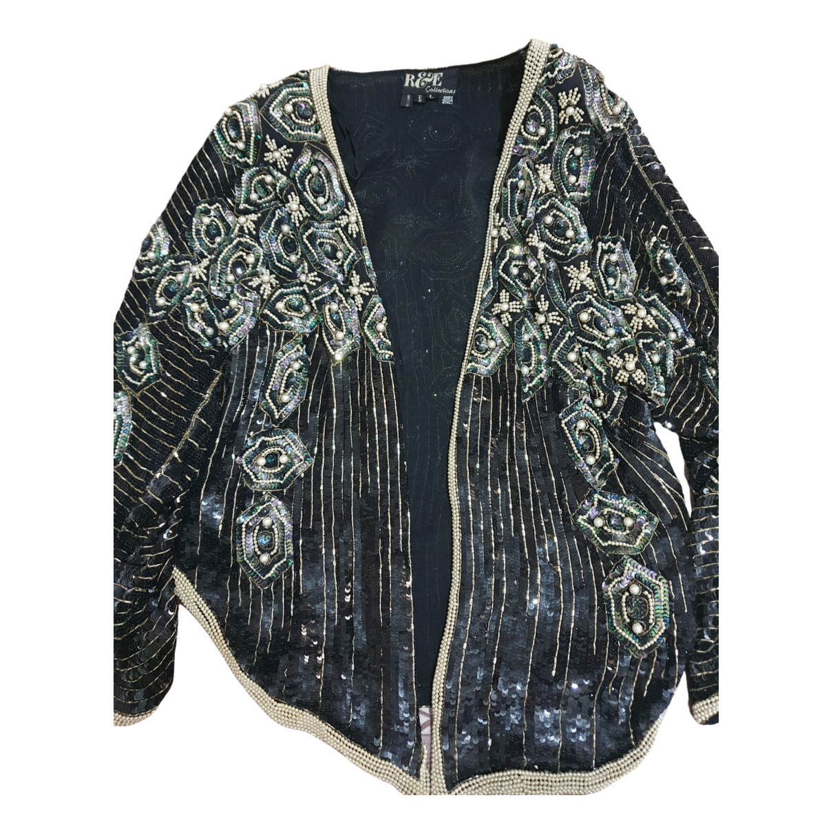 Non Signé / Unsigned \N Silk jacket for Women 46 IT