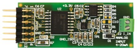 Analog Devices EVAL-CN0336-PMDZ 12-bit ADC Evaluation Board for AD7091R, AD8606, ADUM5401