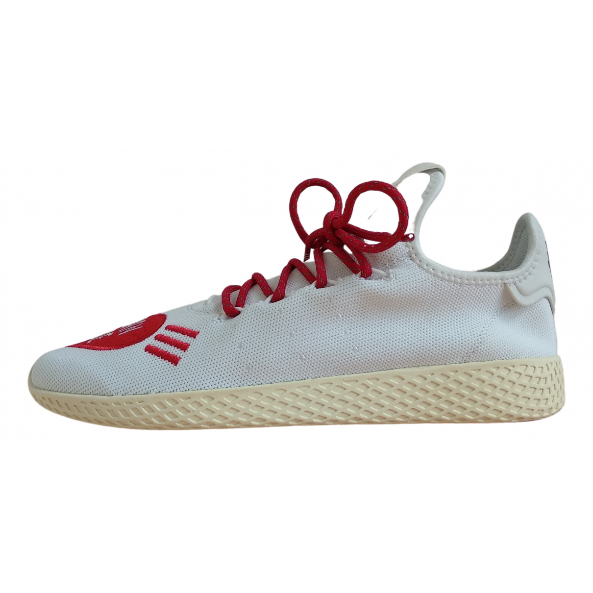 Adidas X Pharrell Williams \N Sneakers in  Weiss Leinen