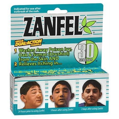 Zanfel Poison Ivy Oak And Sumac Wash 1 oz by Zanfel