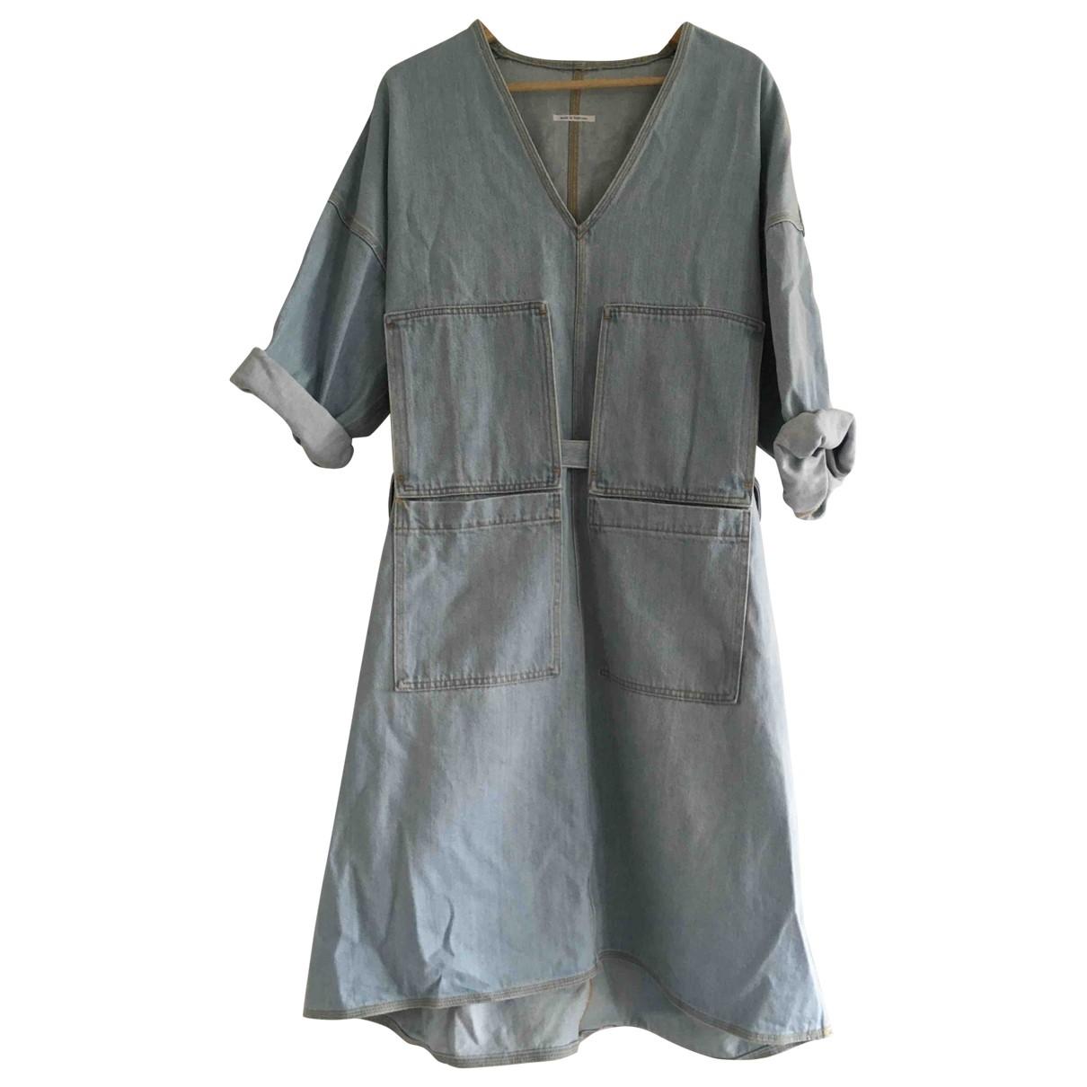 Acne Studios \N Blue Denim - Jeans dress for Women M International