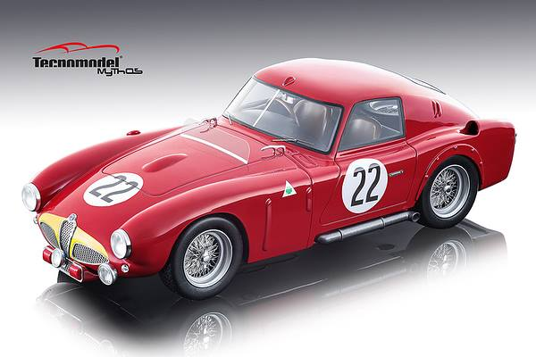 Alfa Romeo 6C 3000 CM 22 DNF J. M. Fangio/ O. Marimon 24 Hours of Le Mans 1953 Mythos Series Limited Edition to 80 pieces Worldwide 1/18 Model Car by