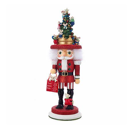 Kurt Adler 18-Inch Hollywood Night Before Christmas Mice Christmas Nutcracker, One Size , Multiple Colors