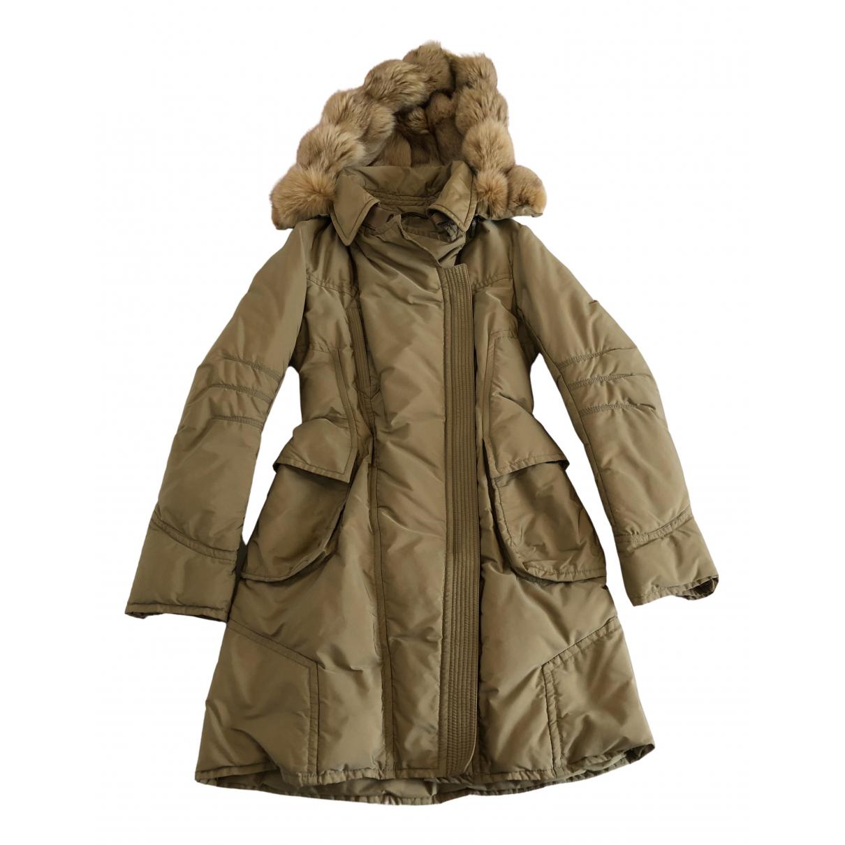 Ermanno Scervino - Manteau   pour femme - beige