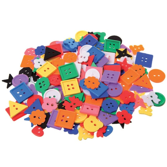 Learning Advantage™ Assorted Small Buttons, 1Lb. | Michaels®