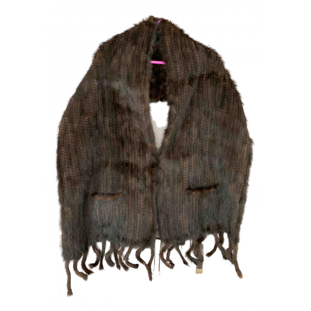 Estola Crochet de Vison Non Signe / Unsigned