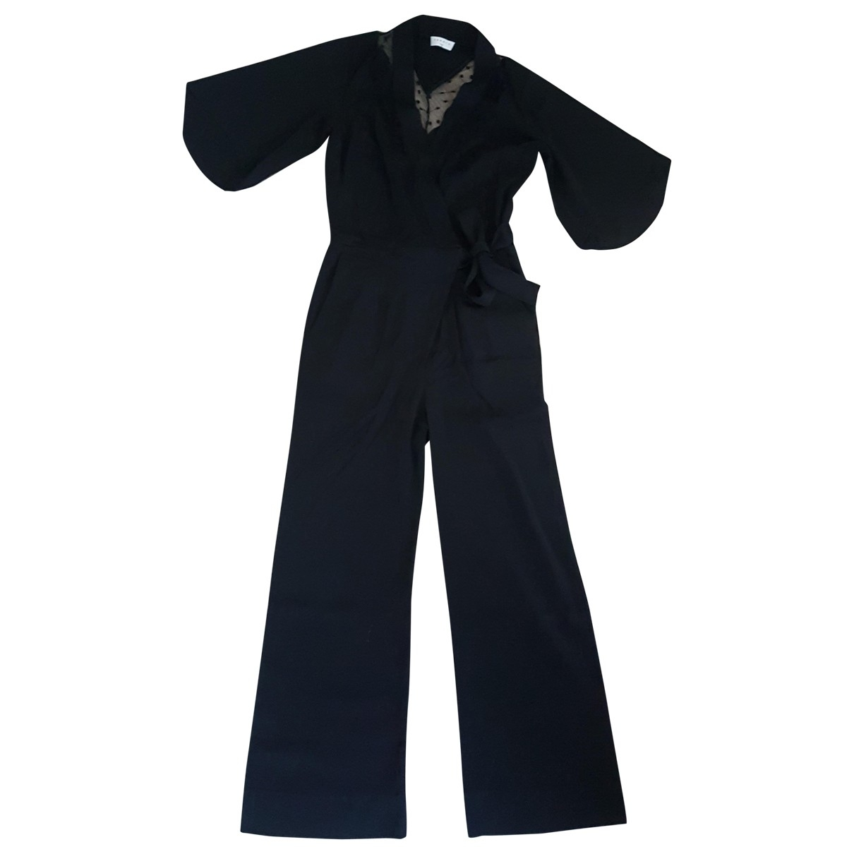 Sandro \N Black jumpsuit for Women 36 FR