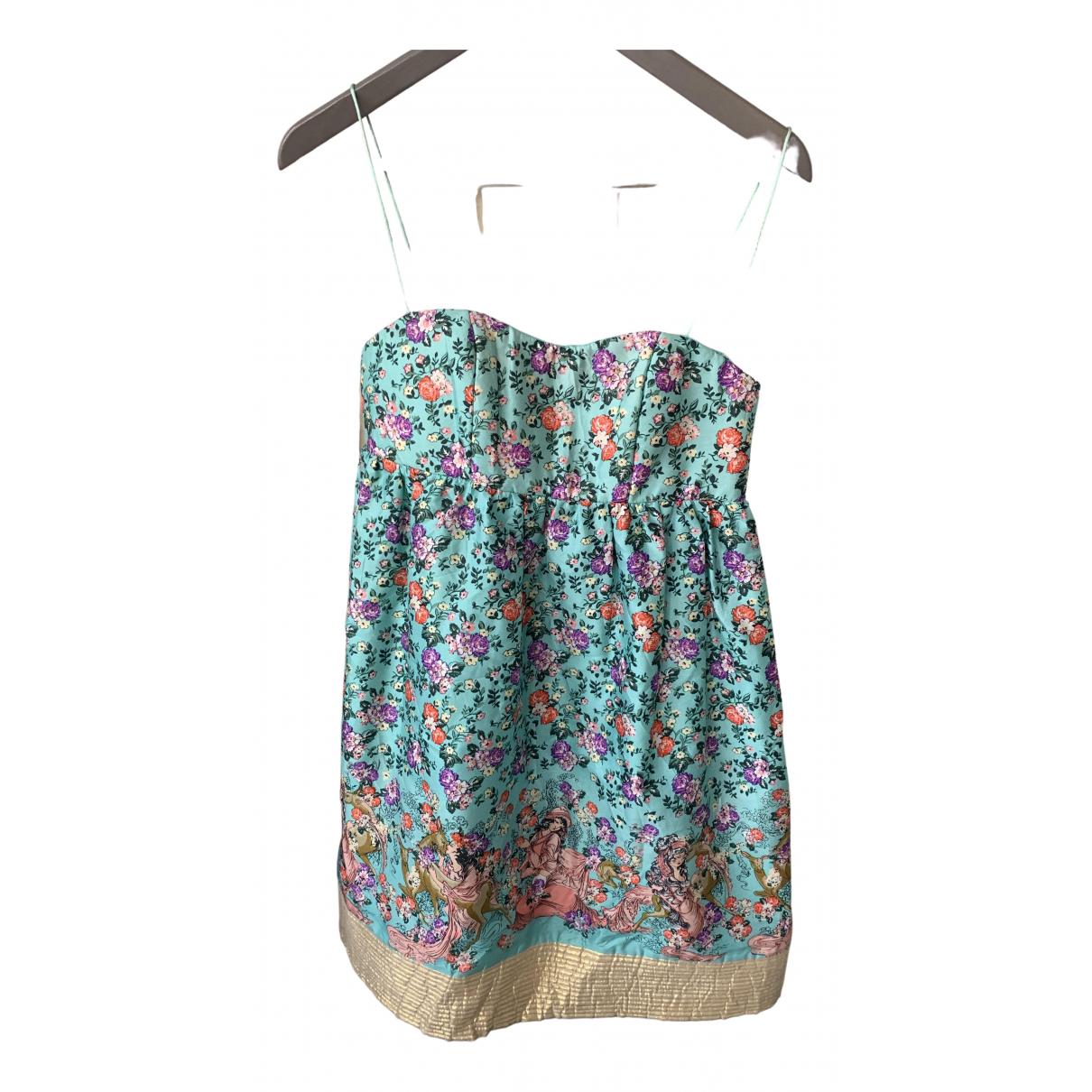 Manoush \N Kleid in  Bunt Seide