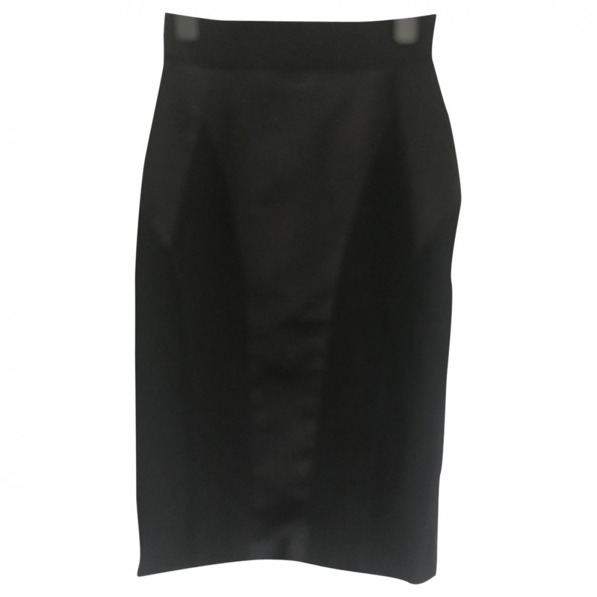 Dolce & Gabbana \N Black Wool skirt for Women 42 IT
