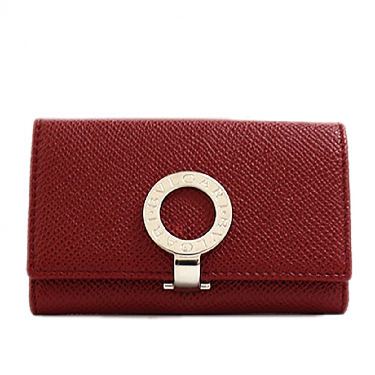 Bvlgari \N Red Leather Purses, wallet & cases for Women \N