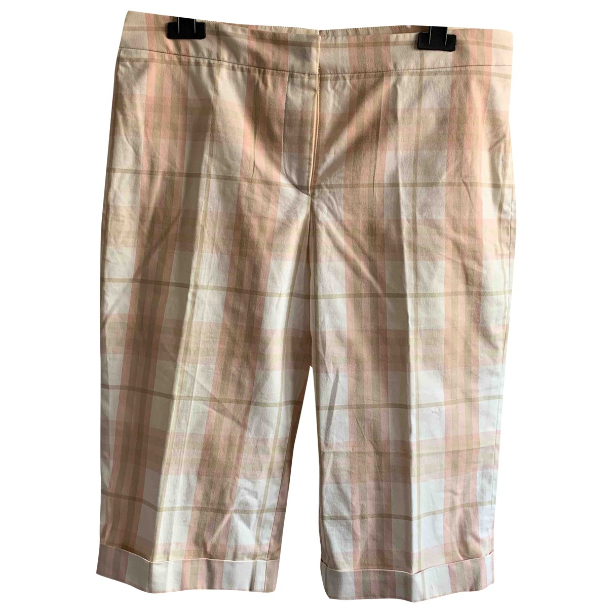 Burberry \N Shorts in  Rosa Baumwolle