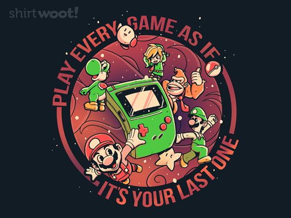 Last Game T Shirt