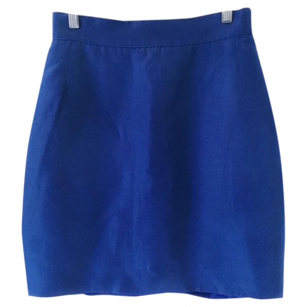 Non Signé / Unsigned \N Blue Silk skirt for Women One Size IT