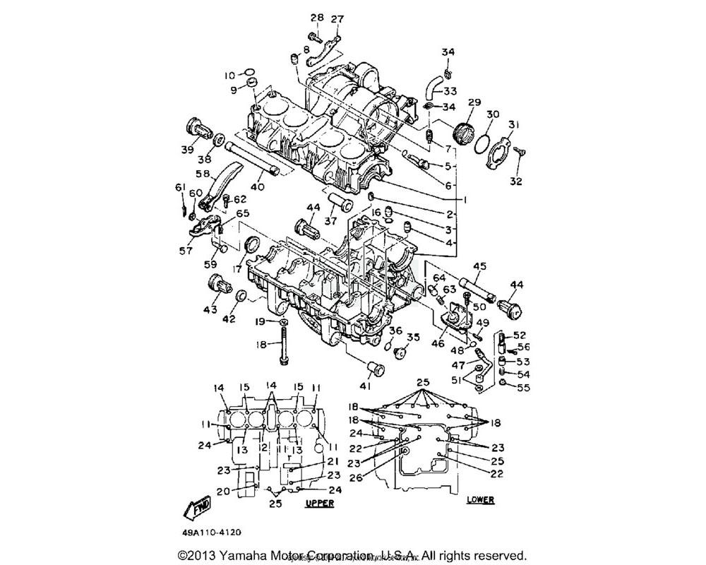 Yamaha OEM 36Y-15336-02-00 DAMPER,ENG MOUNT 3