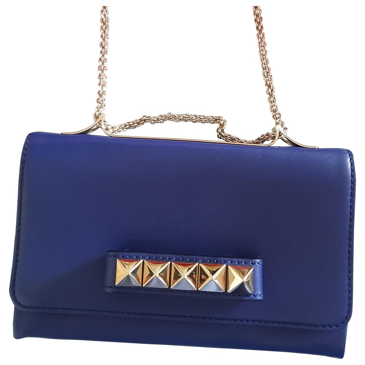 Valentino Garavani Vavavoom Blue Leather handbag for Women \N