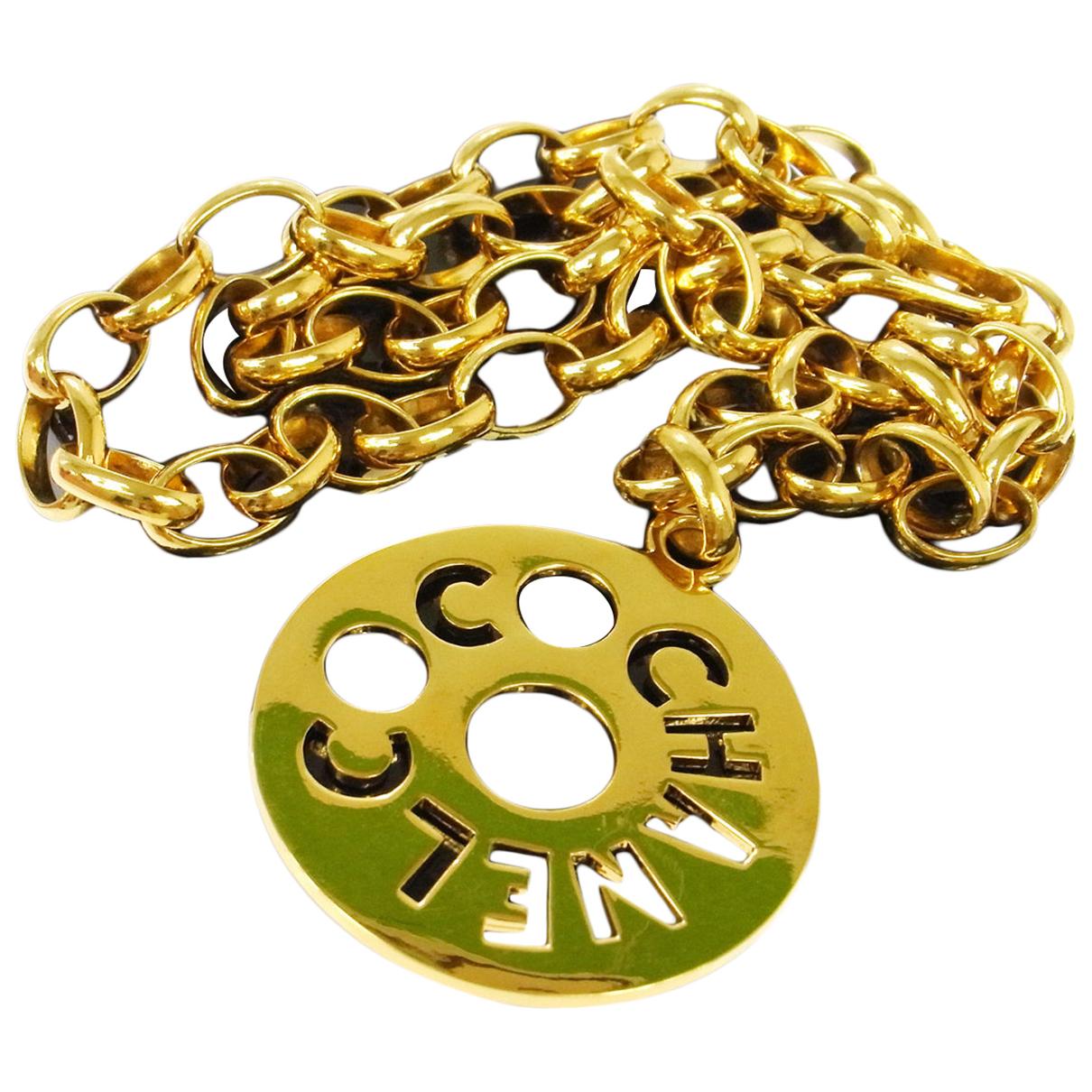 Chanel - Collier CHANEL pour femme en metal