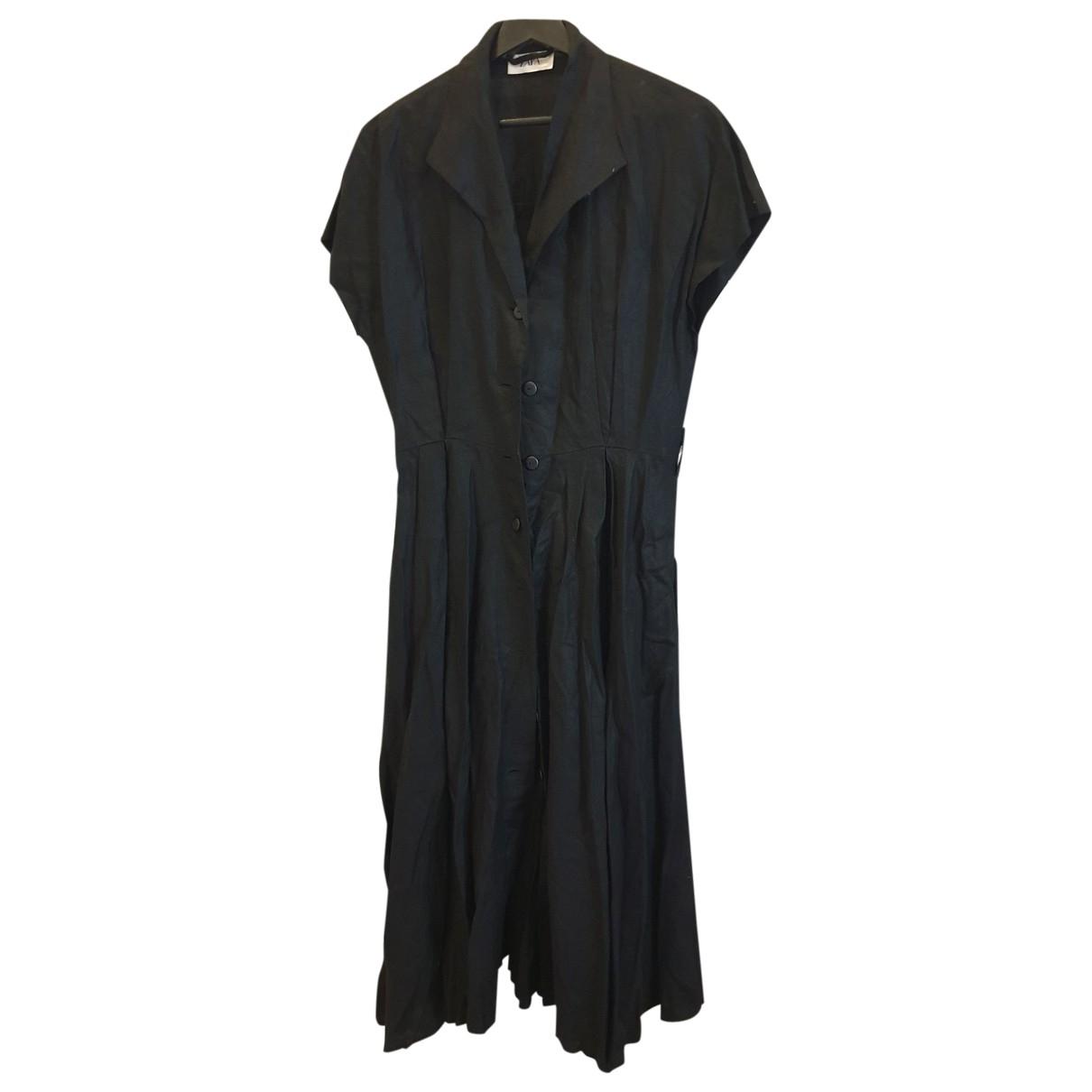 Zapa \N Black Linen dress for Women 42 FR