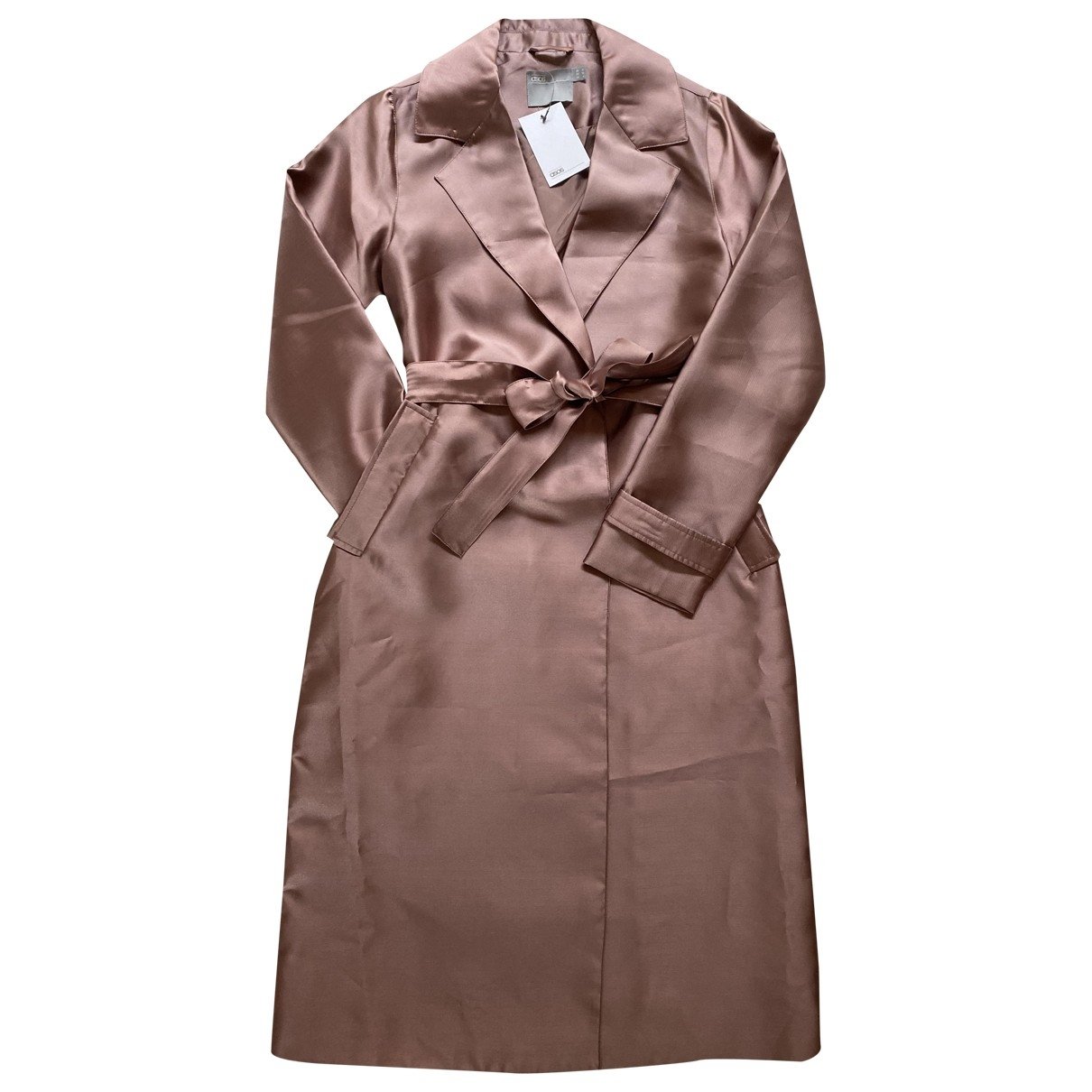 Asos - Manteau   pour femme - metallise