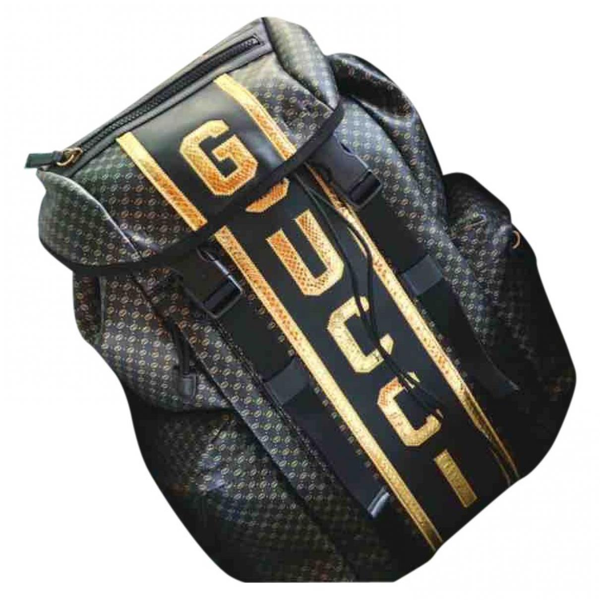 Gucci \N Black Cloth bag for Men \N