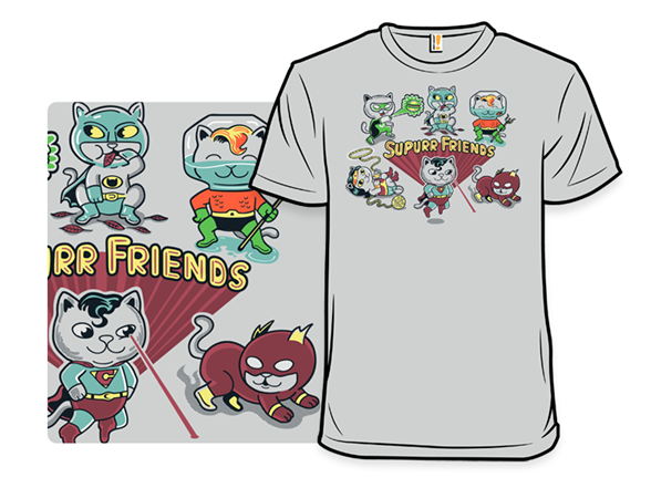 Supurrrr Friends T Shirt