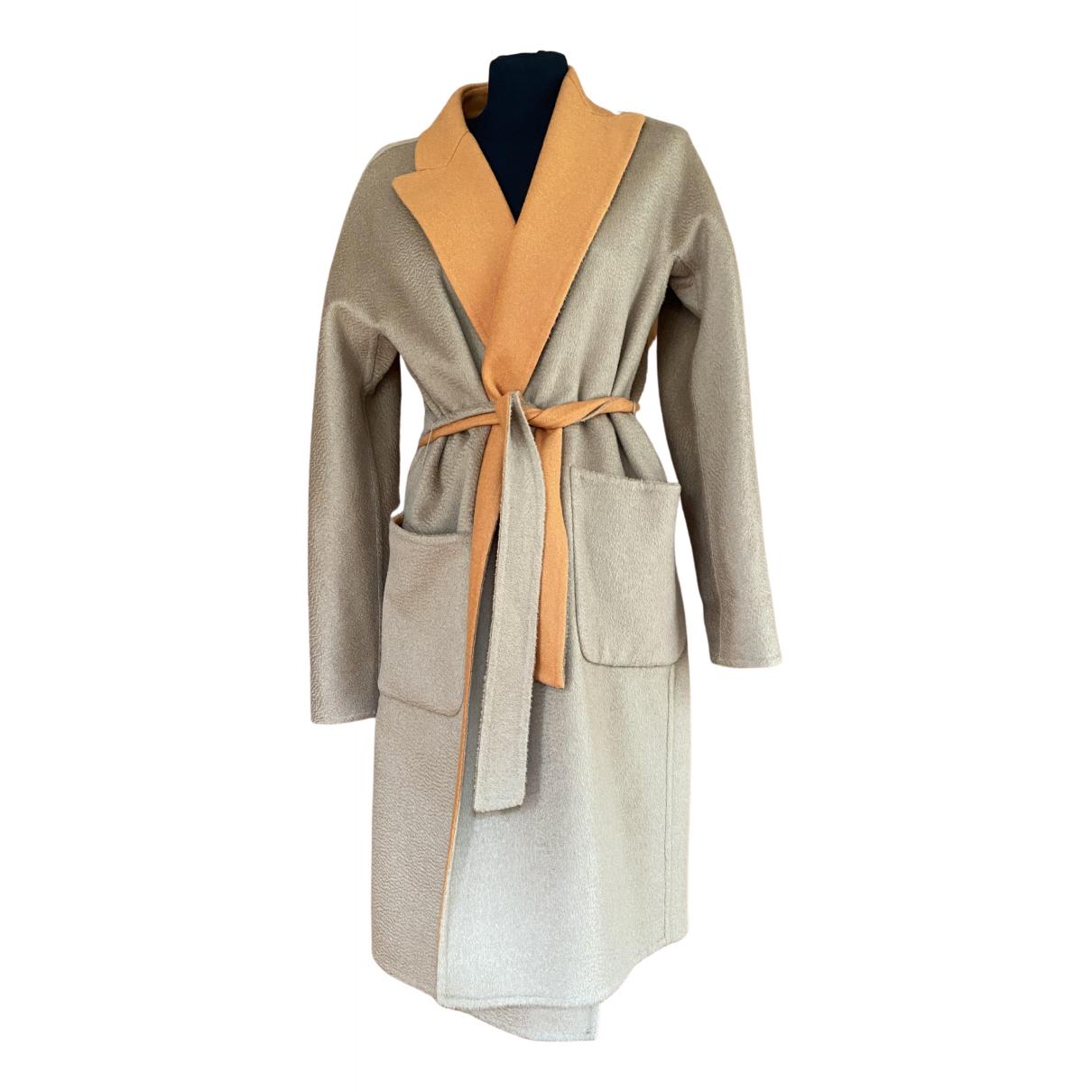 Max Mara - Blouson   pour femme en laine - multicolore