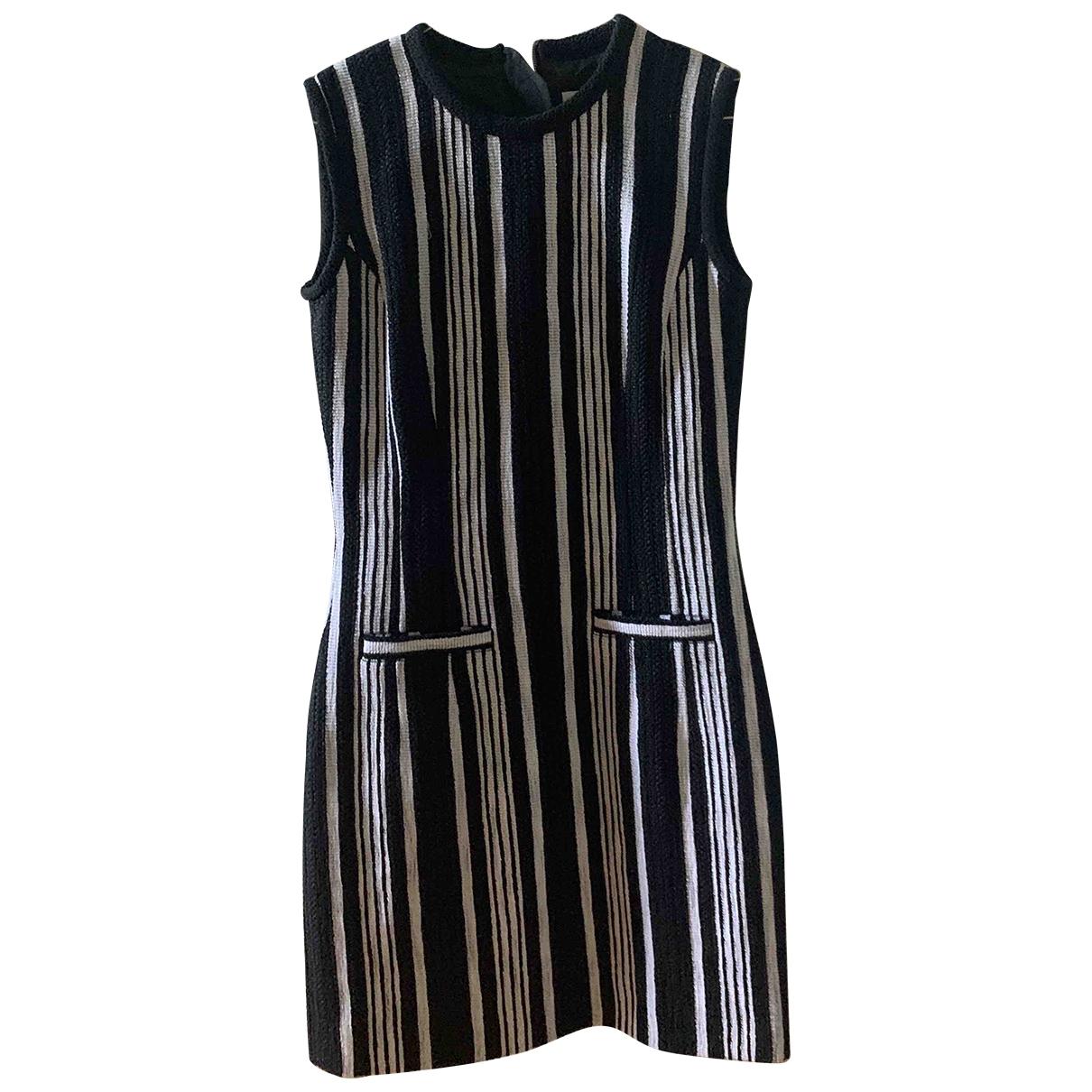 Carven - Robe   pour femme en coton - elasthane - noir