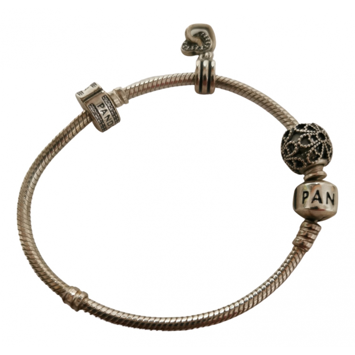 Pandora \N Armband in  Silber Metall