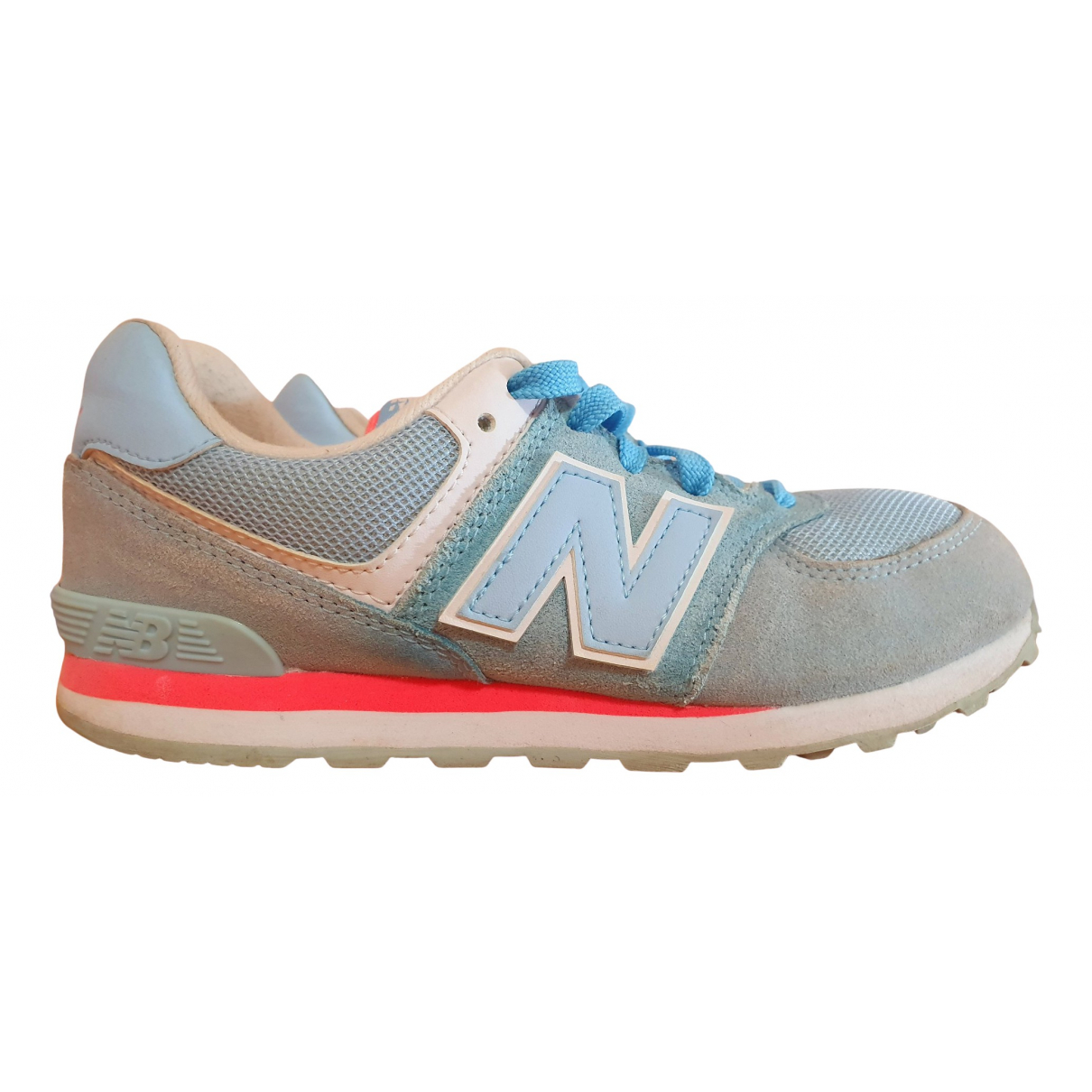 New Balance \N Turquoise Leather Trainers for Women 37 EU