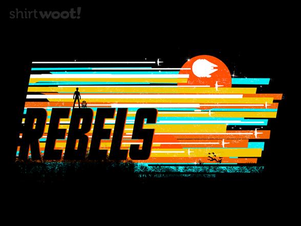 Rebel Stripes T Shirt