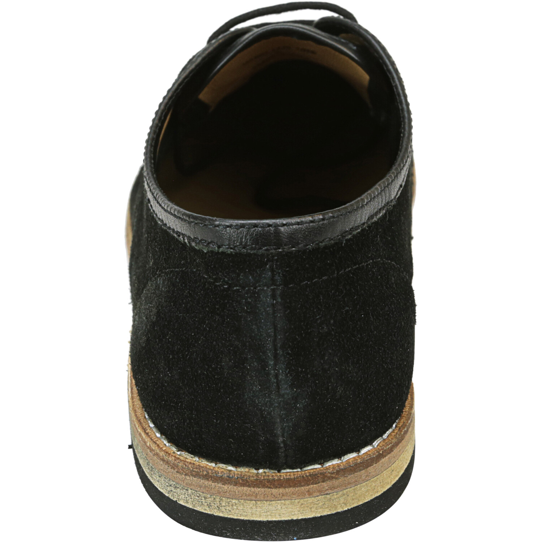 Hudson London Men's Hayane Suede Black Ankle-High Oxford - 8M